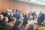 It was standing room only at the hearing for NH HB110